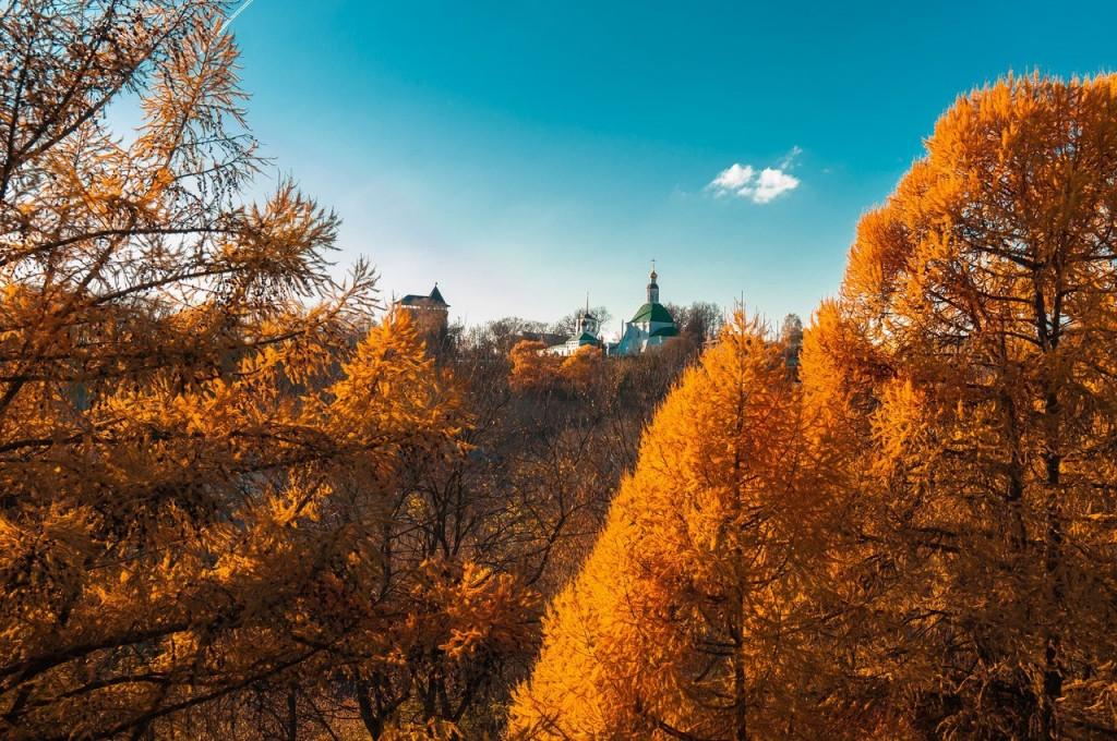 Золотая осень во Владимире 2016 07
