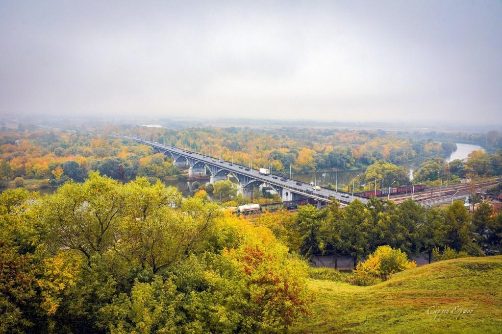 Краски осени 2016 Мост через Клязьму
