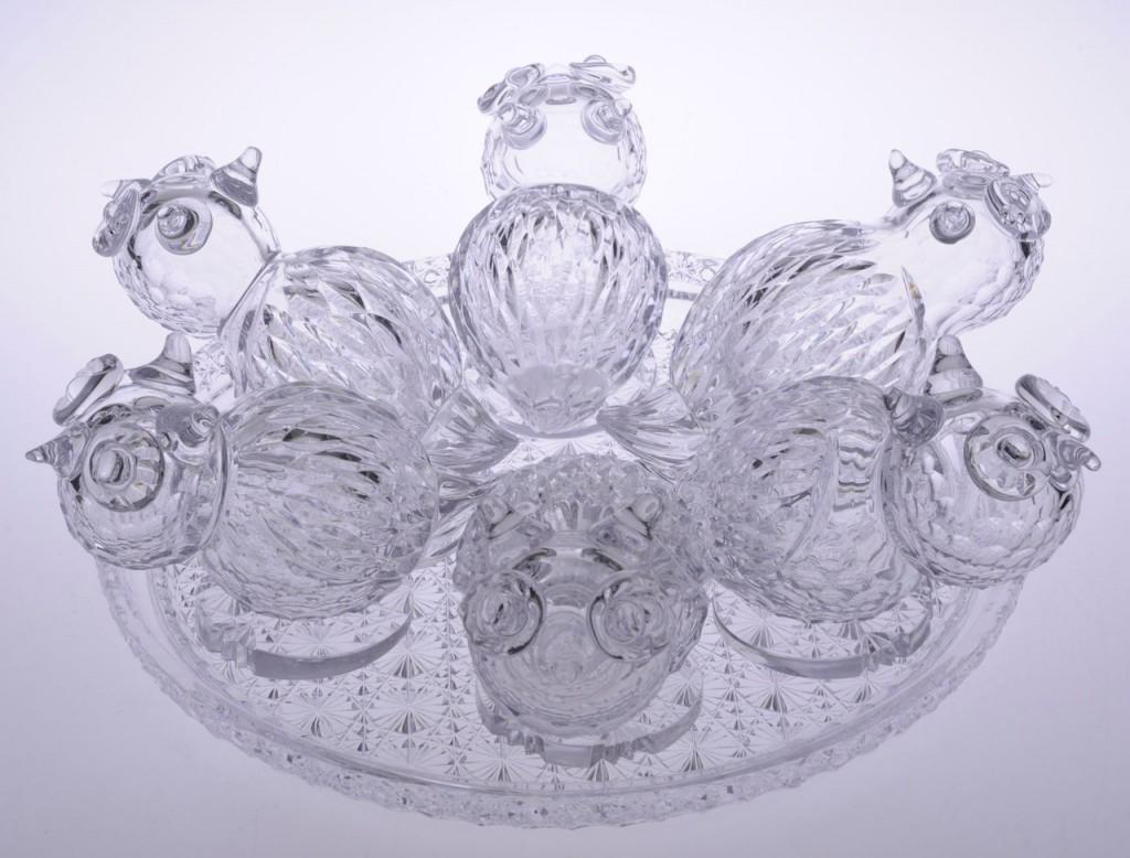 Музею хрусталя имени Мальцовых подарили «Хрустальное гнездо» 01