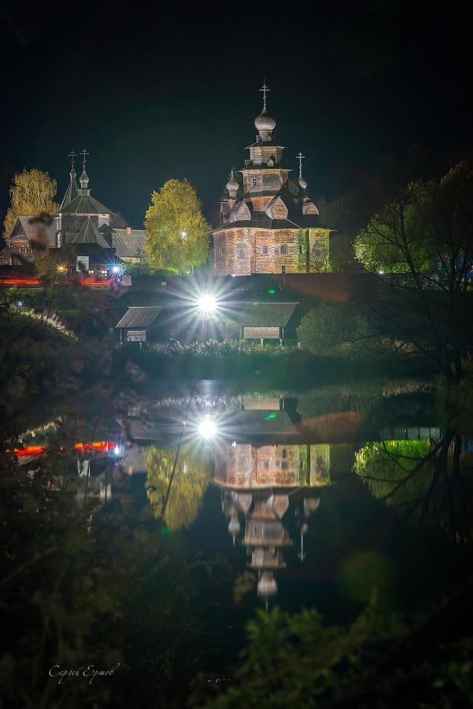 Ночной Суздаль