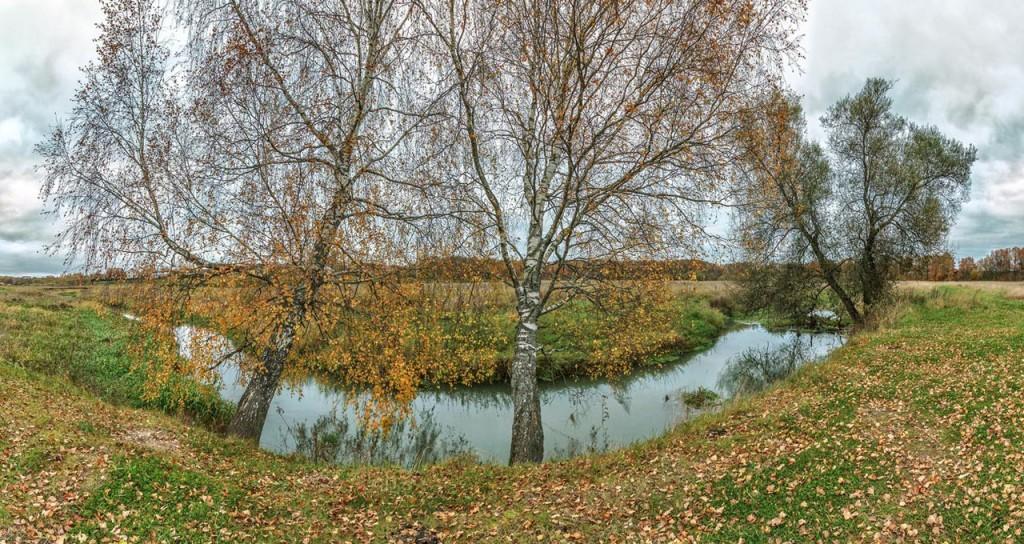 Осеннее утро на Серой реке 03