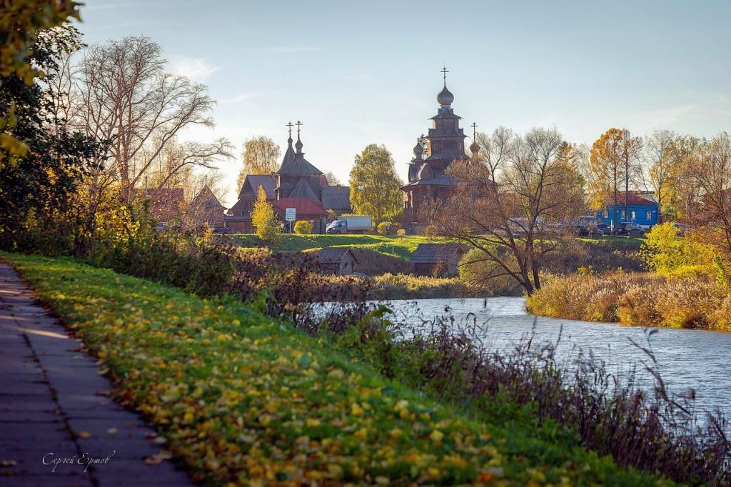 Осень на Пушкарской улице, Суздаль