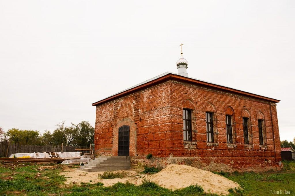 Санниково, Муромский р-н. Церковь Спаса Преображения