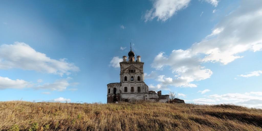 Троицкая церковь, с. Весь, Суздальский р-н