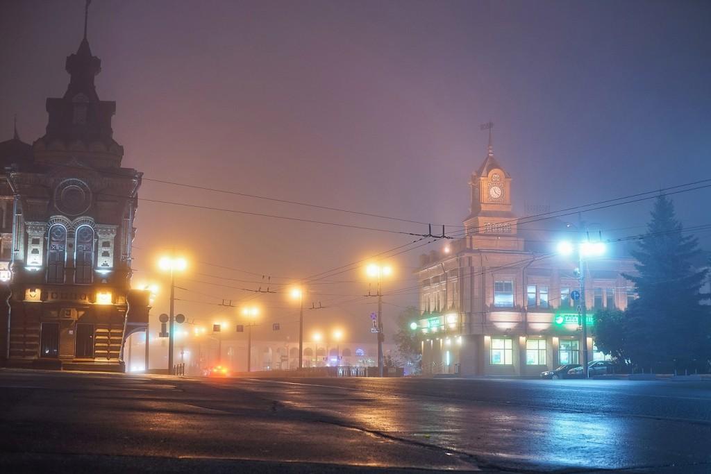 Туман и улица 07