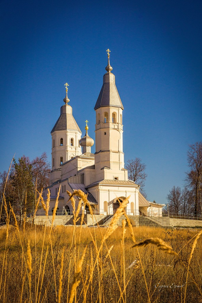 Церковь Спаса Преображения в селе Смольнево