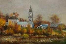 Церковь Успения Пресвятой Богородицы в с. Литвиново Кольчугинского района