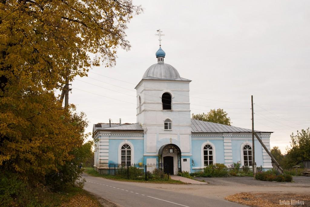 Чаадаево, Муромский р-н. Церковь Рождества Пресвятой Богородицы
