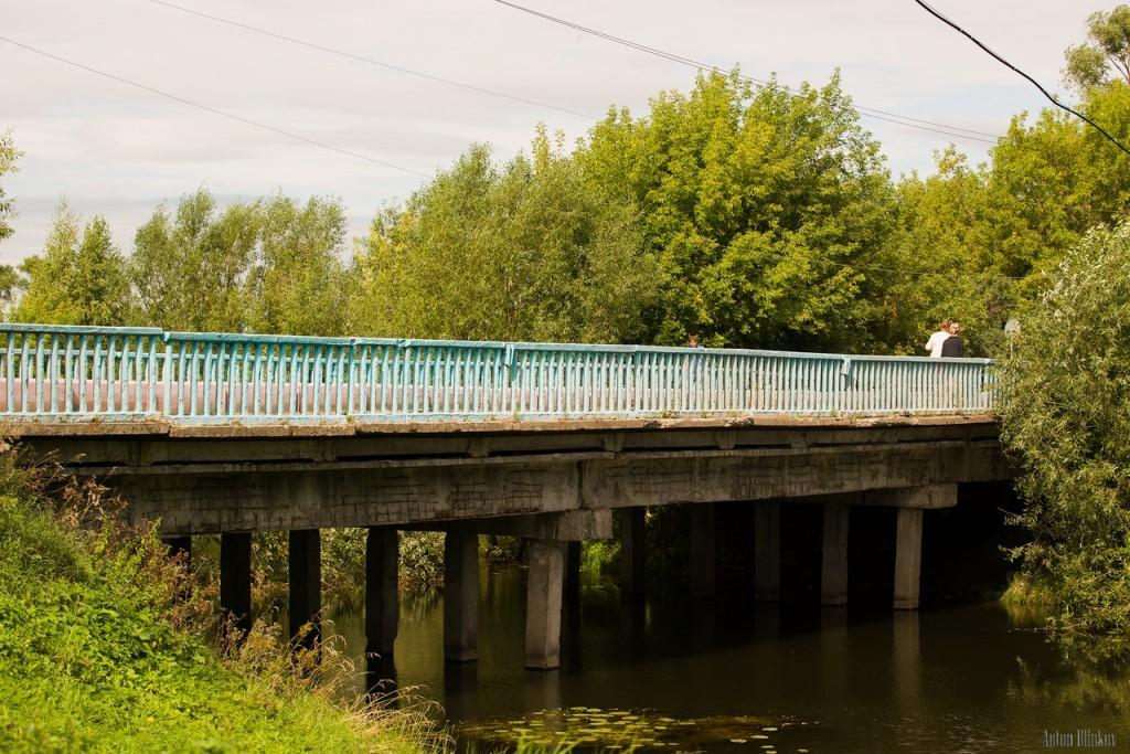 г. Юрьев-Польский, мост через речку Колокша