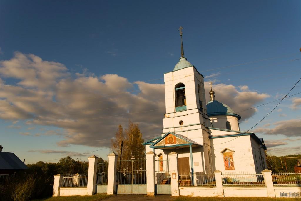 с. Приклон, Меленковский р-н. Храм Михаила Архангела