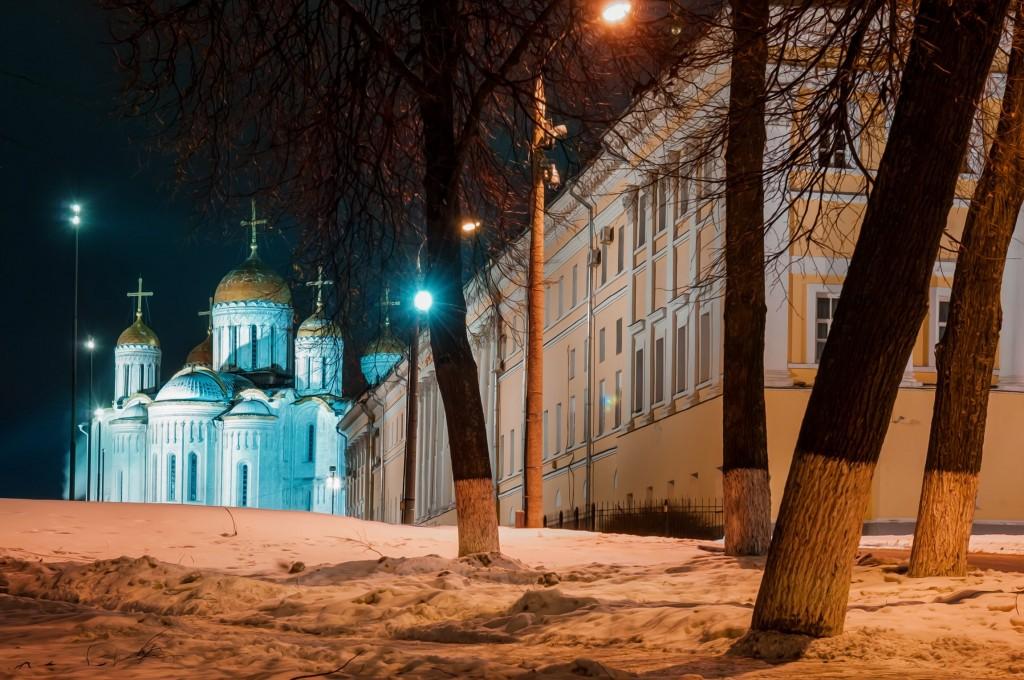 Владимир ночной и снежный (Ноябрь 2016) 01
