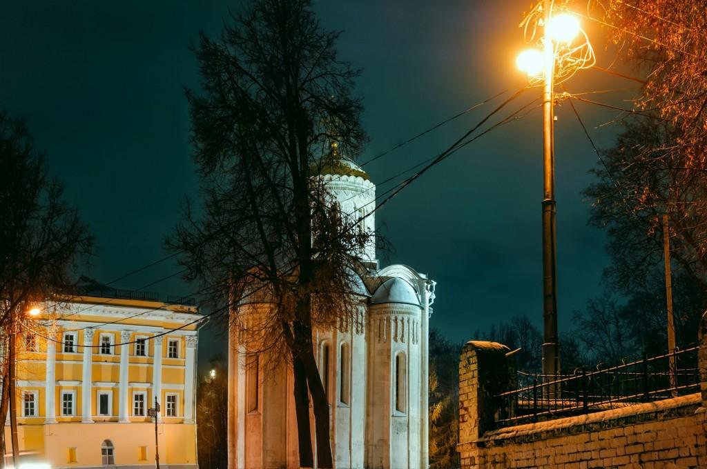 Владимир ночной и снежный (Ноябрь 2016) 02