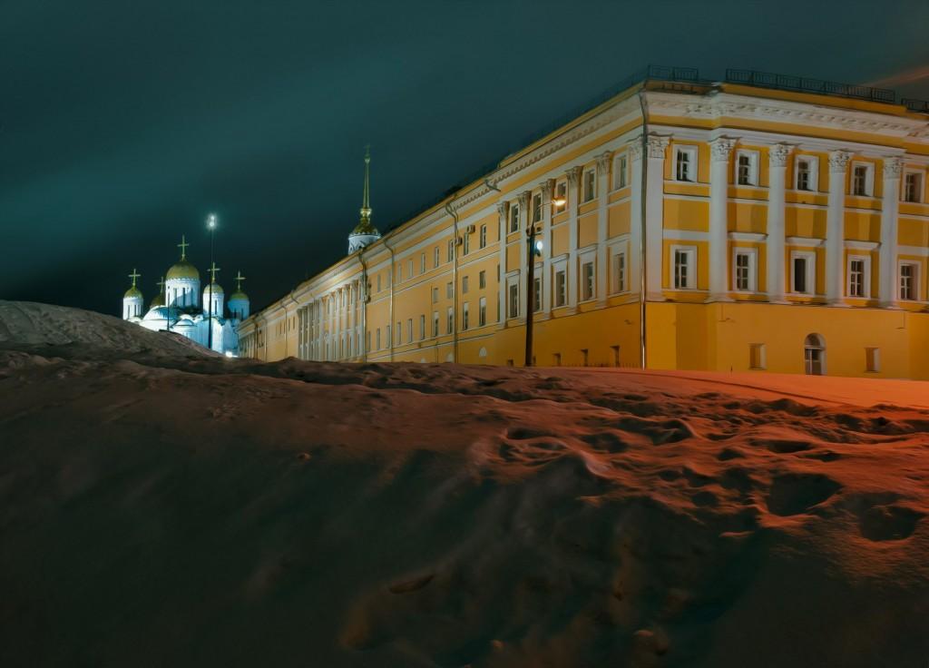 Владимир ночной и снежный (Ноябрь 2016) 03