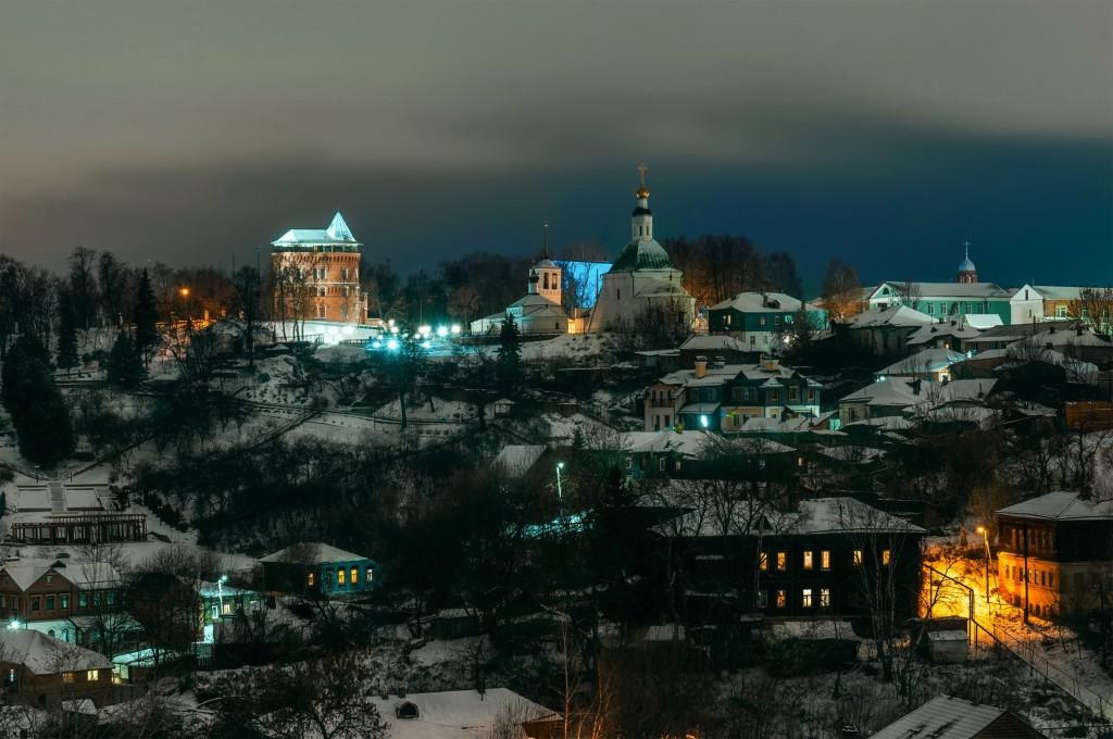 Владимир ночной и снежный (Ноябрь 2016) 04