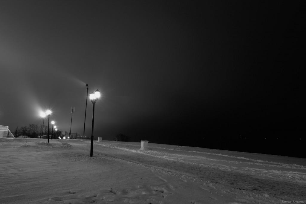 Владимир. Ночь темна и полна света фонарей 04