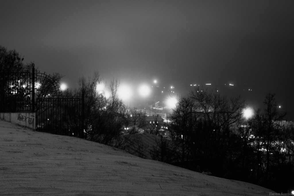 Владимир. Ночь темна и полна света фонарей 05