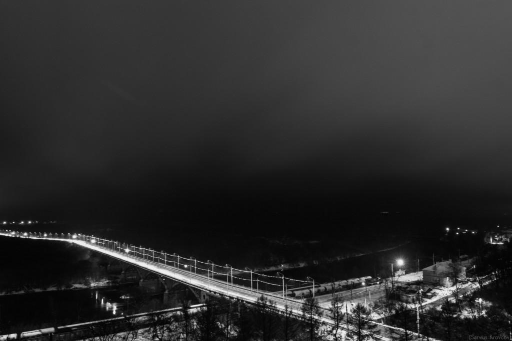 Владимир. Ночь темна и полна света фонарей 06