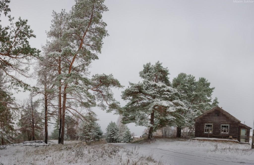 Вот и пришла настоящая зима! (Вязниковский р-, д. Палково)
