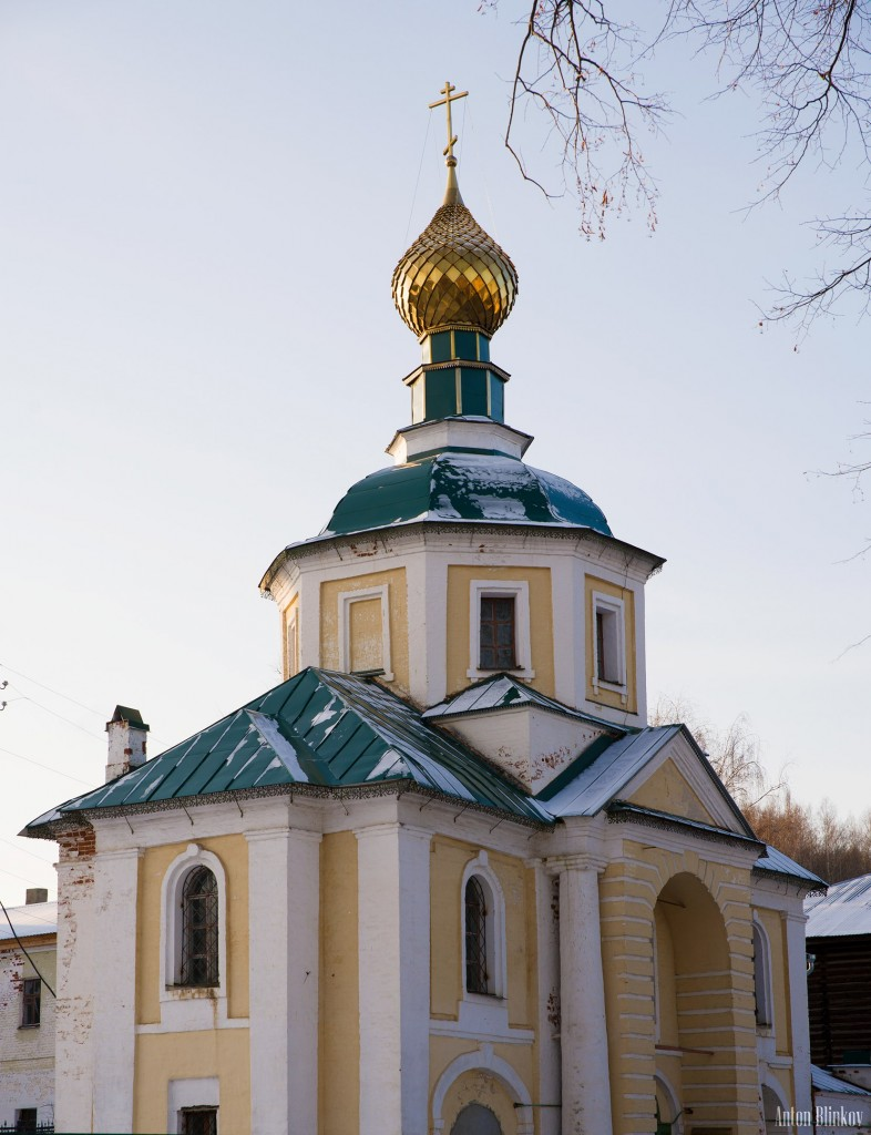 Вязники, Благовещенский монастырь. Церковь Всех Святых.