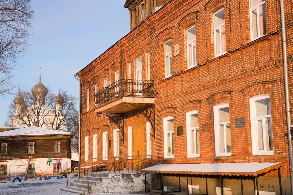 Вязники, здание школы кон. 19в.