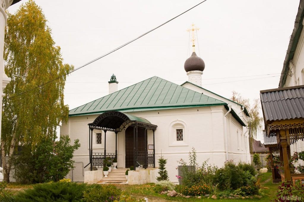 Гороховец, Сретенский монастырь, Сергиевский храм