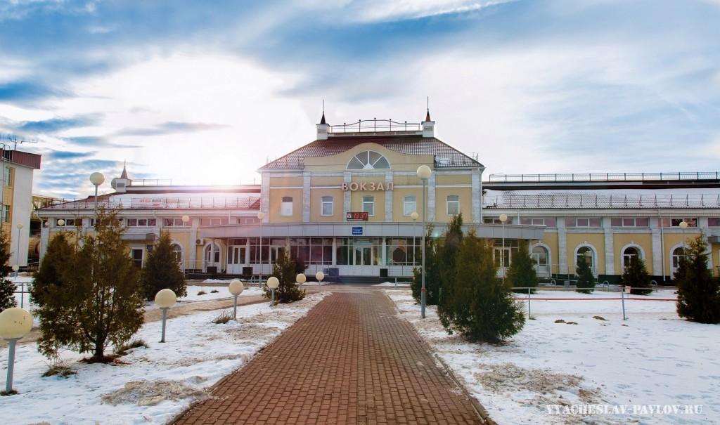 Железнодорожный вокзал г. Вязники