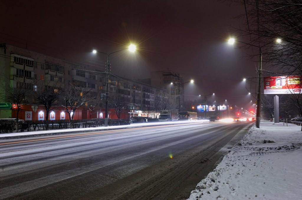 Зимняя, городская сказка (почти ночь, Владимир) 01