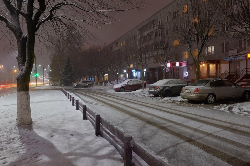 Зимняя, городская сказка (почти ночь, Владимир) 02