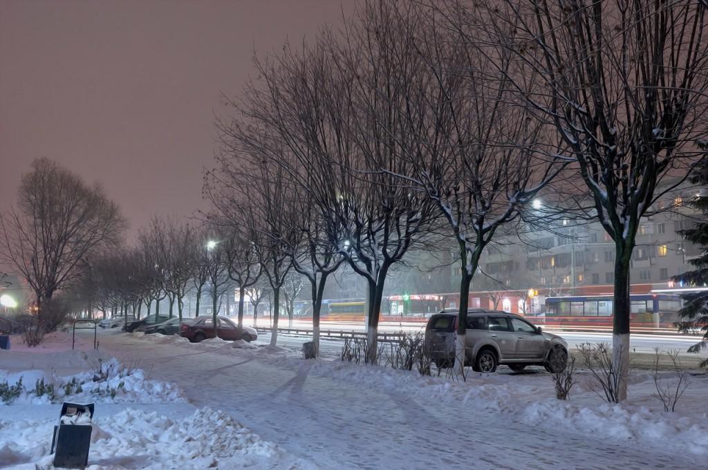 Зимняя, городская сказка (почти ночь, Владимир) 04