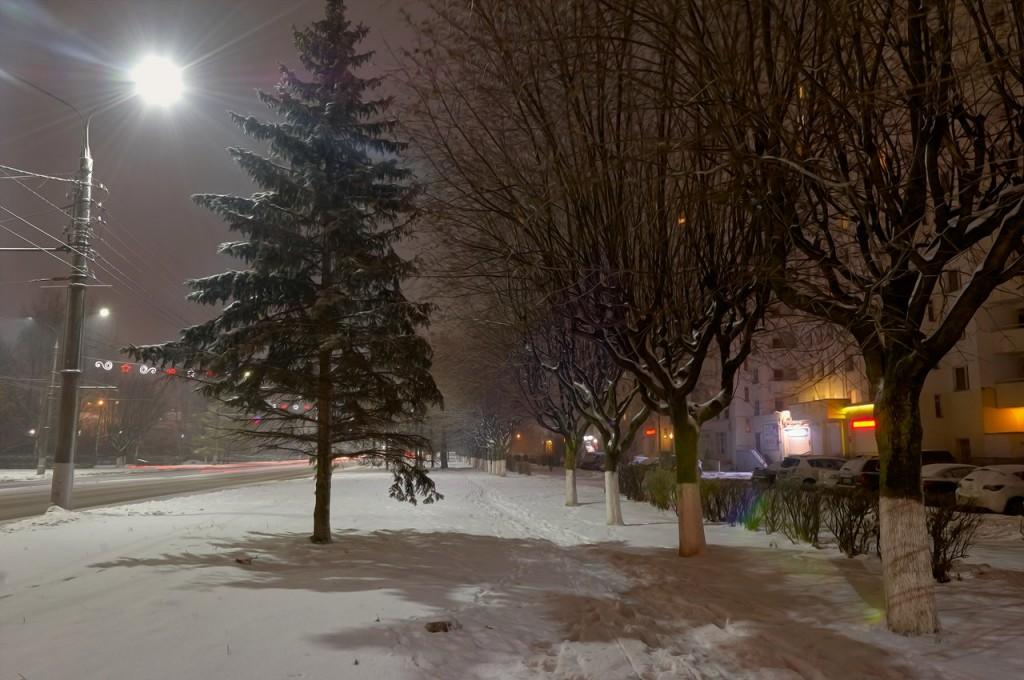 Зимняя, городская сказка (почти ночь, Владимир) 05
