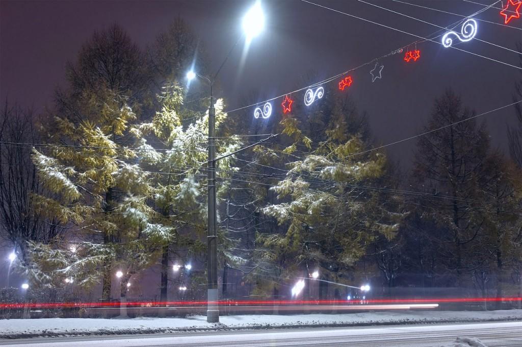 Зимняя, городская сказка (почти ночь, Владимир) 06