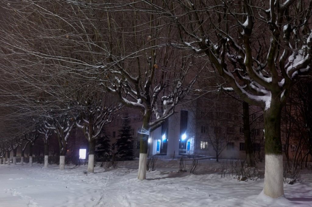 Зимняя, городская сказка (почти ночь, Владимир) 07