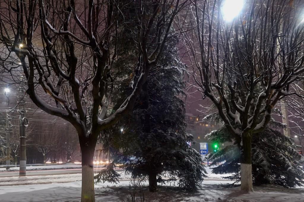 Зимняя, городская сказка (почти ночь, Владимир) 08