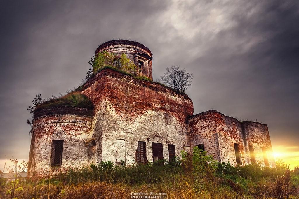 Меленковский р-он, с. Денятино, Казанская церковь