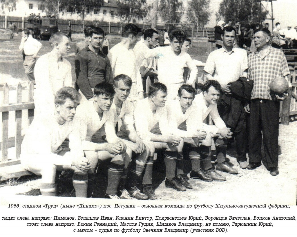 Немного истории футбола города Петушки на старых фото 01