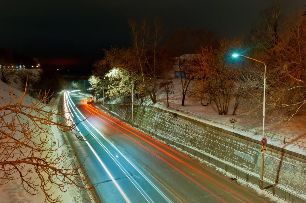 Немного ночного, зимнего Владимира (2016, ноябрь) 02