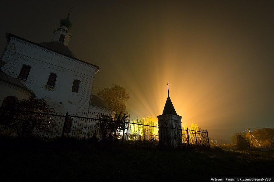 Октябрь на Владимирщине. Ночь 02