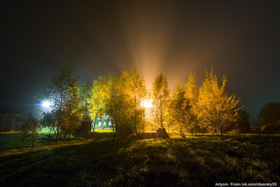 Октябрь на Владимирщине. Ночь 03