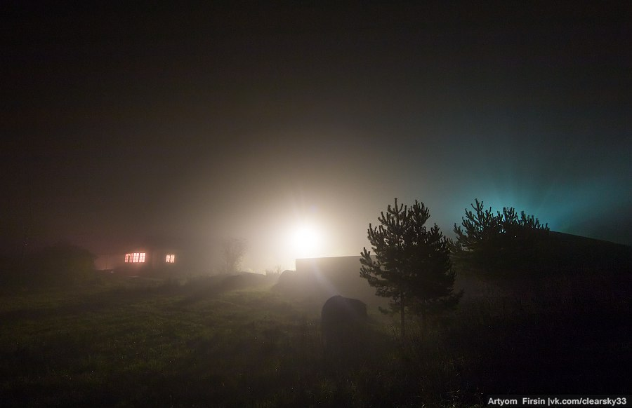 Октябрь на Владимирщине. Ночь 05