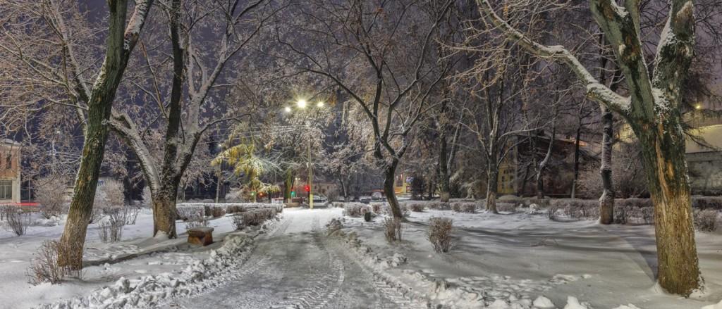 Сквер в Советском переулке, г. Александров