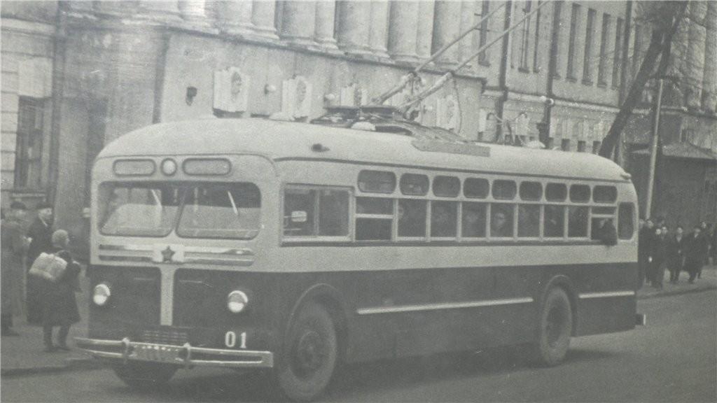 Список подвижного состава троллейбусов г.Владимира (1975 г.) 01