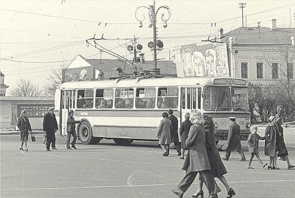 Список подвижного состава троллейбусов г.Владимира (1975 г.) 14