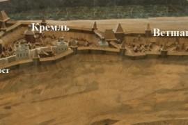 Торговый мост города Владимира