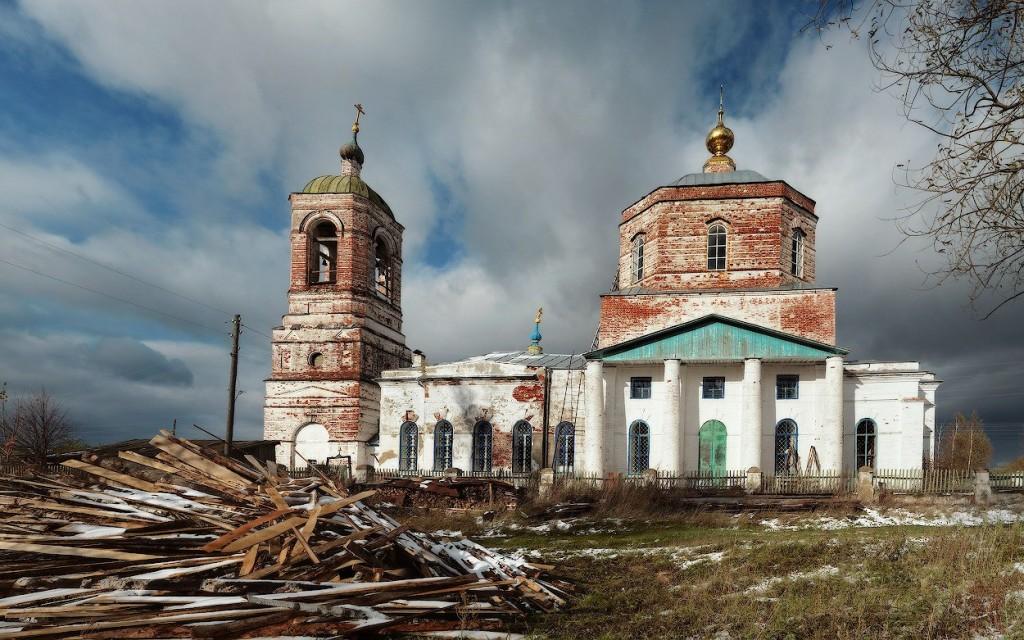 Троицкая церковь (1829-1840)  с. Заястребье, Судогодский р-н
