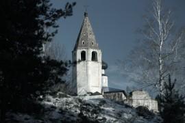 Успенская церковь села Любец на реке Клязьме. Ковровский район