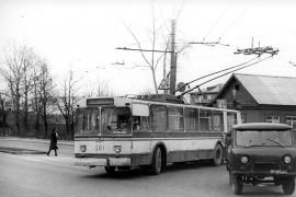 Фото старых троллейбусов города Владимира