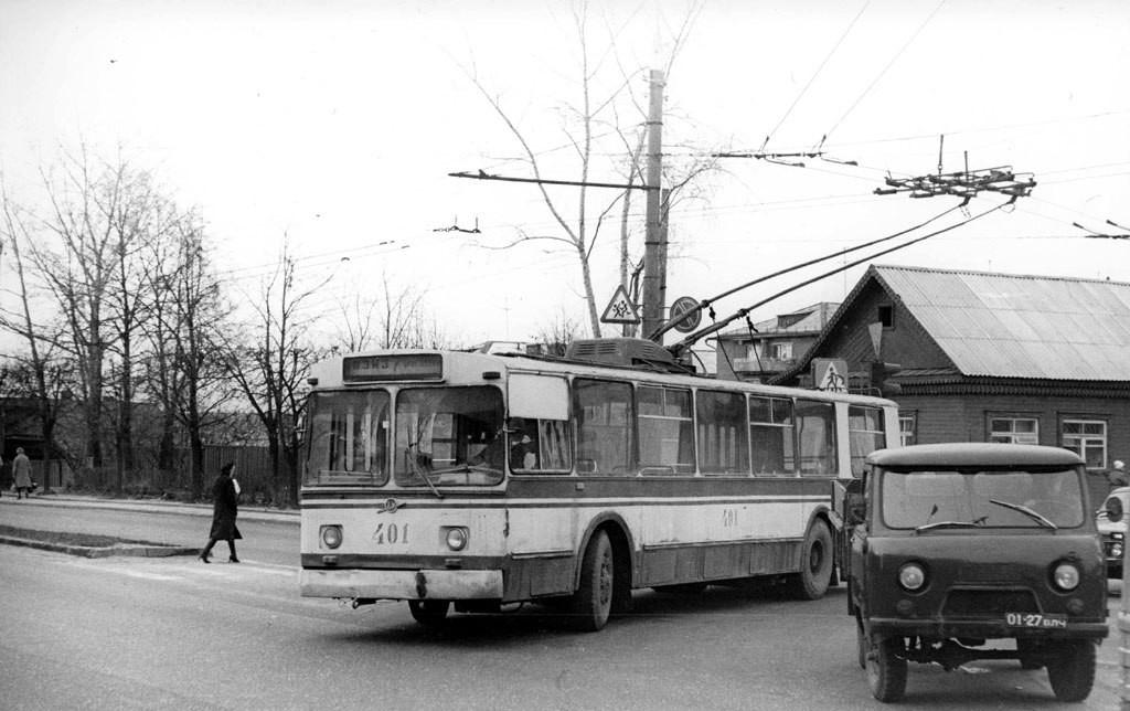 Фото старых троллейбусов города Владимира 01