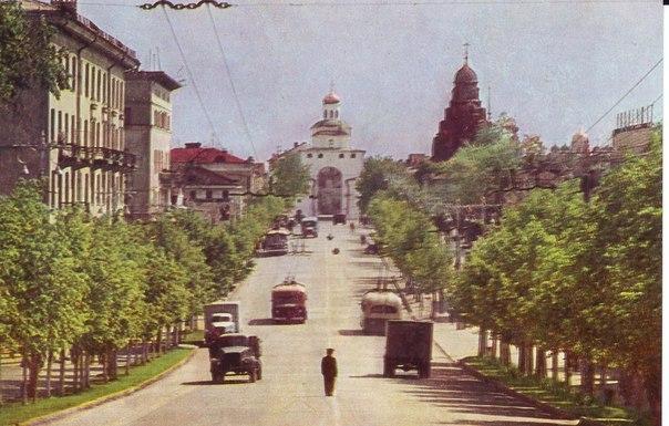 Фото старых троллейбусов города Владимира 04