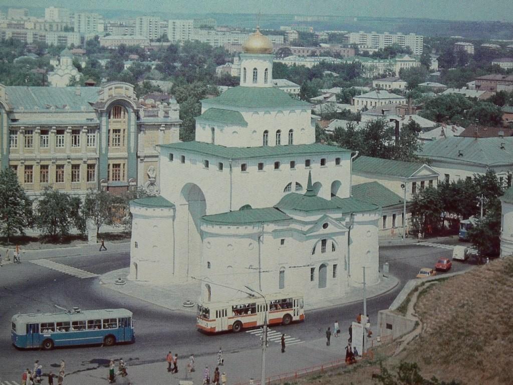 Фото старых троллейбусов города Владимира 06