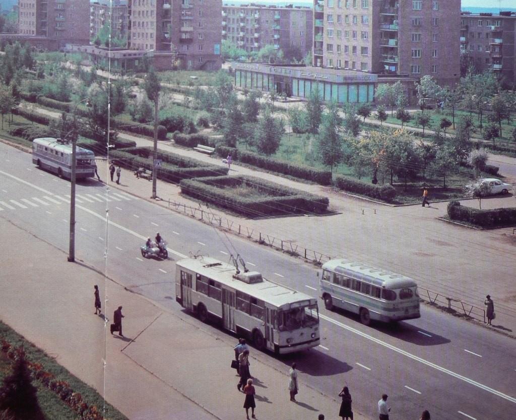 Фото старых троллейбусов города Владимира 07